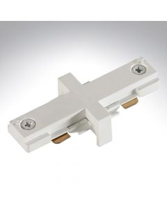 Illuma Mains Voltage White StraightConnector