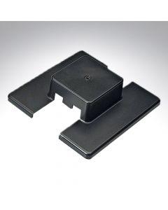 Illuma Mains Voltage Black Centre Feed