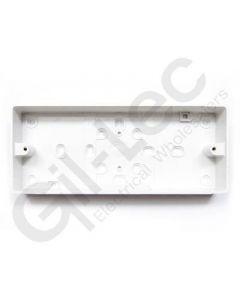 MK Surface Box 3 Gang 32mm PVC