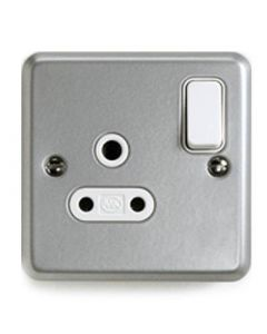 Unswitched Roundpin Socket 1 Gang 5a