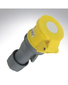 Lewden 16A 110V 3 Pin Industrial Yellow Connector