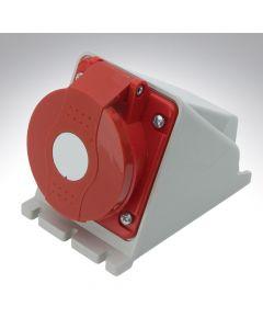 Lewden 16A 415V 5 Pin Surface Angled Socket