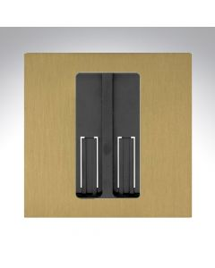 Lutron RA2 Select Single Gang Pico Faceplate - Satin Brass