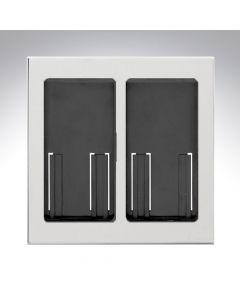 Lutron RA2 Select Dual Gang Pico Faceplate - Bright Chrome