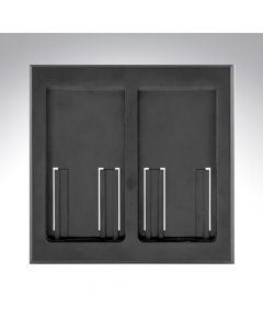 Lutron RA2 Select Dual Gang Pico Faceplate - Black