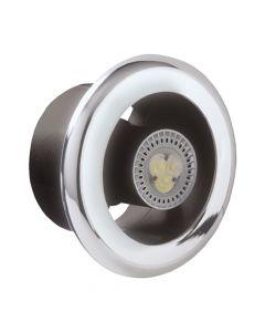 Manrose Shower Centrifugal Fan & LED Light Kit