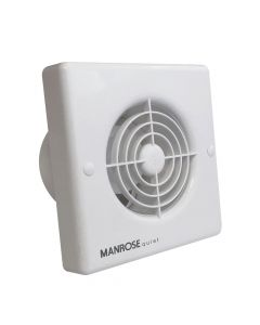 Manrose Quiet Four Inch Extractor Fan + Timer