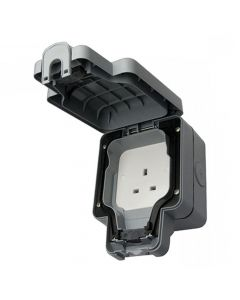 Outdoor Unswitched 13A Socket