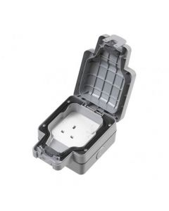 1 Gang Switched Outdoor Socket DP 13A