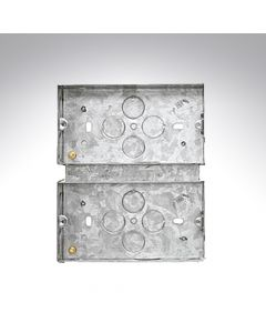 2 Gang Combination Plate Box