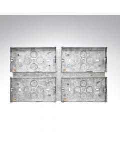 4 Gang Combination Plate Box