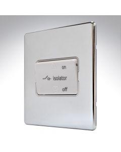 MK Edge Polished Chrome Fan Isolator Switch