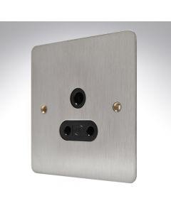 MK Edge Brushed Steel Lighting Socket 5amp