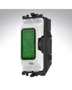 MK Grid Indicator Module 230v Neon Green