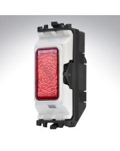 MK Grid Indicator Module 230v Neon Red