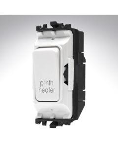 MK Grid Switch 1 Way Double Pole 20A Plinth Heater