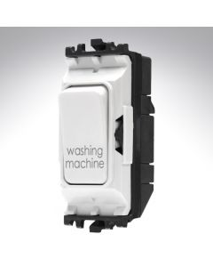 MK Grid Switch 1 Way Double Pole 20A Washing Machine
