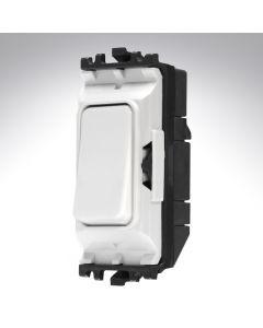 MK Grid Switch 1 Way Push Make 20A