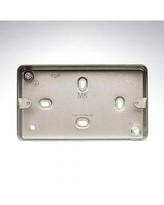 2 Gang Surface Box 86x146x41mm