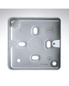 1 Gang Surface Box + Knockout 86x86x41mm