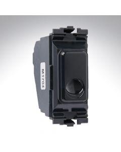 MK Grid Flex Outlet 16A MK Connection Unit - Black