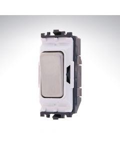 MK Grid Switch Retractive 10A BSS W