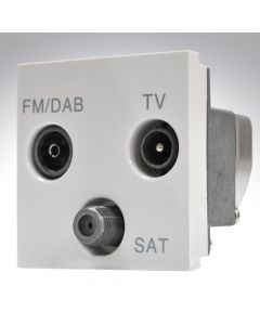 2 Module TV+FM/DAB+SAT Triplexer