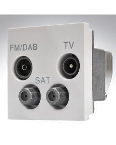 4 Module TV+FM/DAB+2xSAT Quadplexer