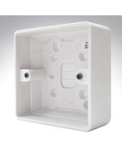 MK Surface Box 1 Gang 30mm