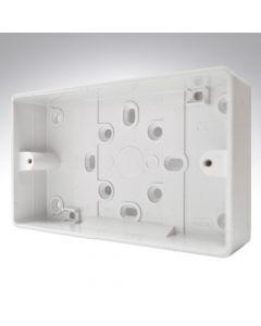 MK PVC Surface Box 2 Gang 32mm