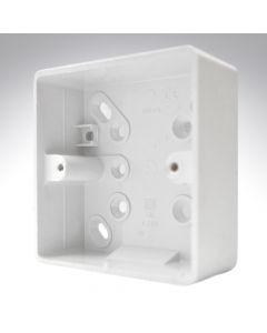 MK PVC Surface Box 1 Gang 32mm
