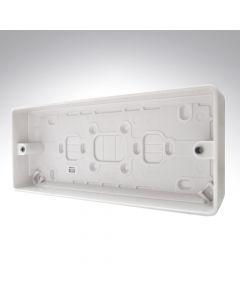MK Surface Box 3 Gang 30mm