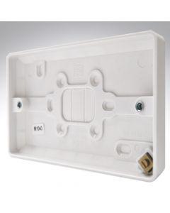 MK Surface Box 2 Gang 16mm