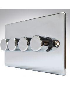 Hartland  Polished Chrome LED Dimmer 4G 2W 100w