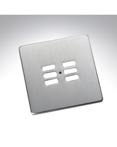 Rako 6 Button Wireless Wall Switch Cover Plate - Stainless Steel