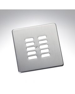 Rako 10 Button Wireless Wall Switch Cover Plate - Stainless Steel