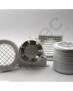 Inline Axial Shower Fan Kit