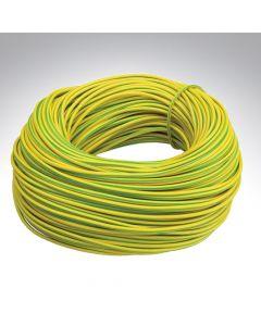 Sleeving 4mm Green / Yellow x 100m