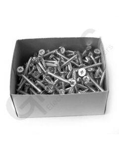 Box 200 x Pozidrive Wood Screws 8 x 1.5