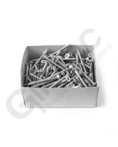 Box 200 x Pozidrive Wood Screws 8 x 1.75