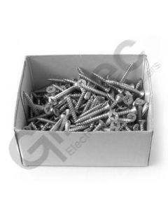 Box 200 x Pozidrive Wood Screws 8 x 1