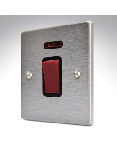 Hartland Stainless Steel 45a DP Switch + Neon