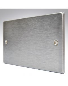 Hartland Stainless Steel Blank Plate Double
