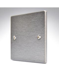 Hartland Stainless Steel Blank Plate Single