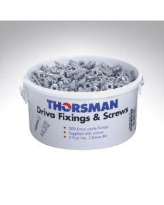 Thorsman Driva Cavity Fixing & Screws Trade Tub
