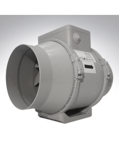 "Turbo Tube Pro 150 6"" Centrifugal Inline Fan with Timer"