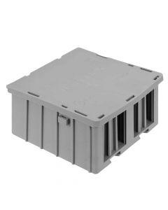 WAGO 60339091 Extra Large WAGOBOX Grey Multipurpose Electrical Junction Box