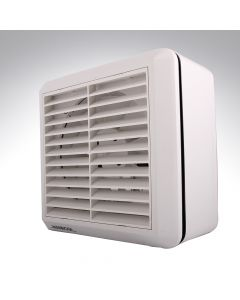 Six Inch Window Fan + Shutters & Humidistat