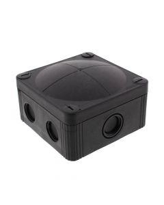 Wiska Box Black 95x95x60mm