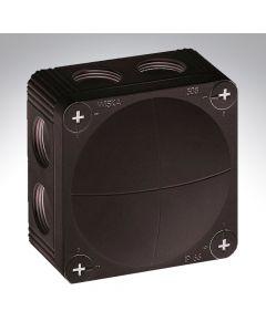 Wiska Box Black 85x85x51mm
